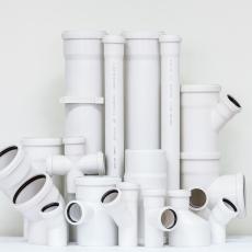 Трубопровод канализация и фитинги