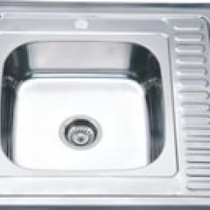 Кухонная мойка нержавейка MG8-6060L , 60х60/08мм