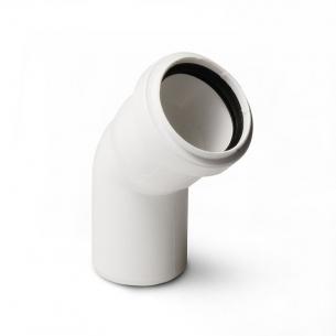 Отвод Stilte белый  40x45