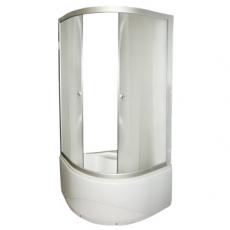 FARO. Душевой уголок 8030 с высоким поддоном, стекло крезет (900*900*2000)