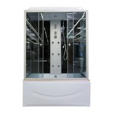 Душевая кабина COMFORTY 8004 серое стекло, 1500х800х2150