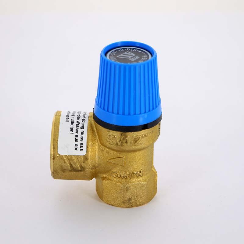 """Клапан предохранительный ВВ SVW для систем водоснабжения WATTS Ind 1/2""""х3/4"""" 6 бар"""