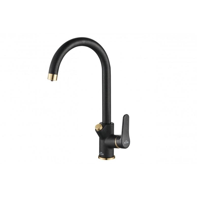 Смеситель Steel Hammer SH 901 BLACK BR для кухонной мойки
