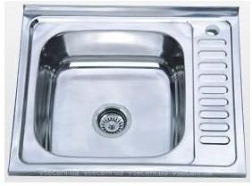 Кухонная мойка нержавейка 50х60/0,8мм  MG8-6050