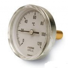 Термометр биметаллический (0-150°C) L=60 (50)