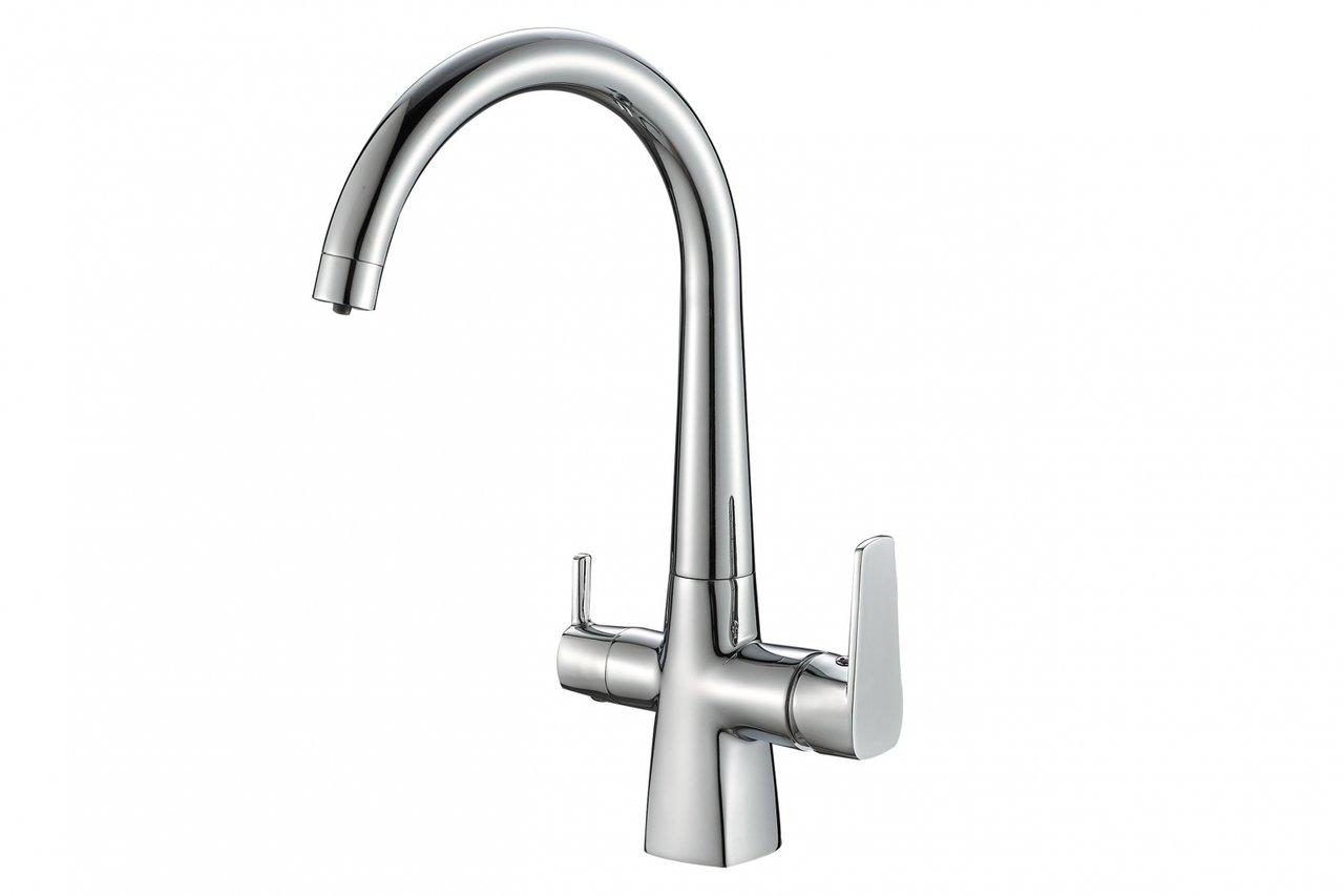 Смеситель Steel Hammer SH 819 CR для кухонной мойки