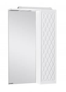 Шкаф-зеркало 3D 50 Эл. левый Домино