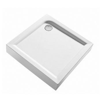 IFO. Silver Душевой поддон квадратный со встроенной фронтальной панелью, белый 900*900мм, RP6216900000