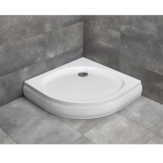 RADAWAY. Акриловый душевой поддон Patmos A900 900*900*155, 4S99155-03N, белый