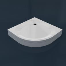 Душевой поддон из камня RS 90 (R550) (900x900x50(130) мм)