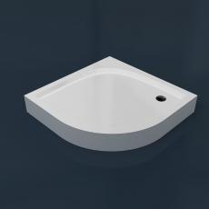 Душевой поддон из камня RR 90 (R500)  (900x900x35(130) мм)