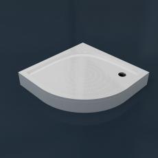 Душевой поддон из камня RR 90 (R550)  (900x900x35(130) мм)