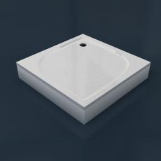 Душевой  поддон из камня  KK 100  (1000x1000x30(130) мм)