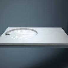 Душевой поддон из камня IP 900 (850х830х30)