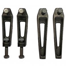Комплект ножек для ванны чугунной (2 рег.+2 не рег.)