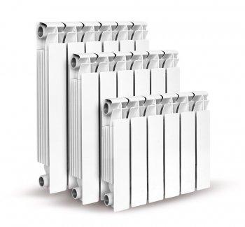 Радиатор алюминиевый AL 500/100  4секц. Konner