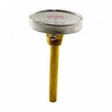 Термометр биметаллический (0-120°C) L=100