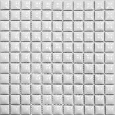 Elada Mosaic. Мозаика 25TG-01 (300*300*9 мм) белая