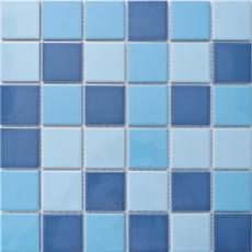 Elada Mosaic. Мозаика M48TN336 (307*307*6 мм) темно-голубой микс